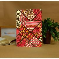 GAPJE15 : Red Pattern Batik (ekslusif)