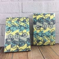 Jurnal Mini : pattern with bikes